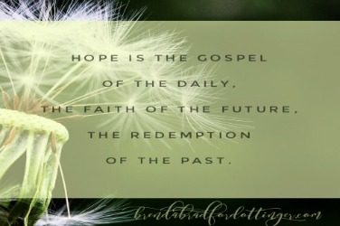Hope is (blank)?